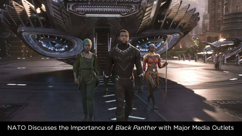 NATO Discusses the Importance of Black Panther with Major Media Outlets