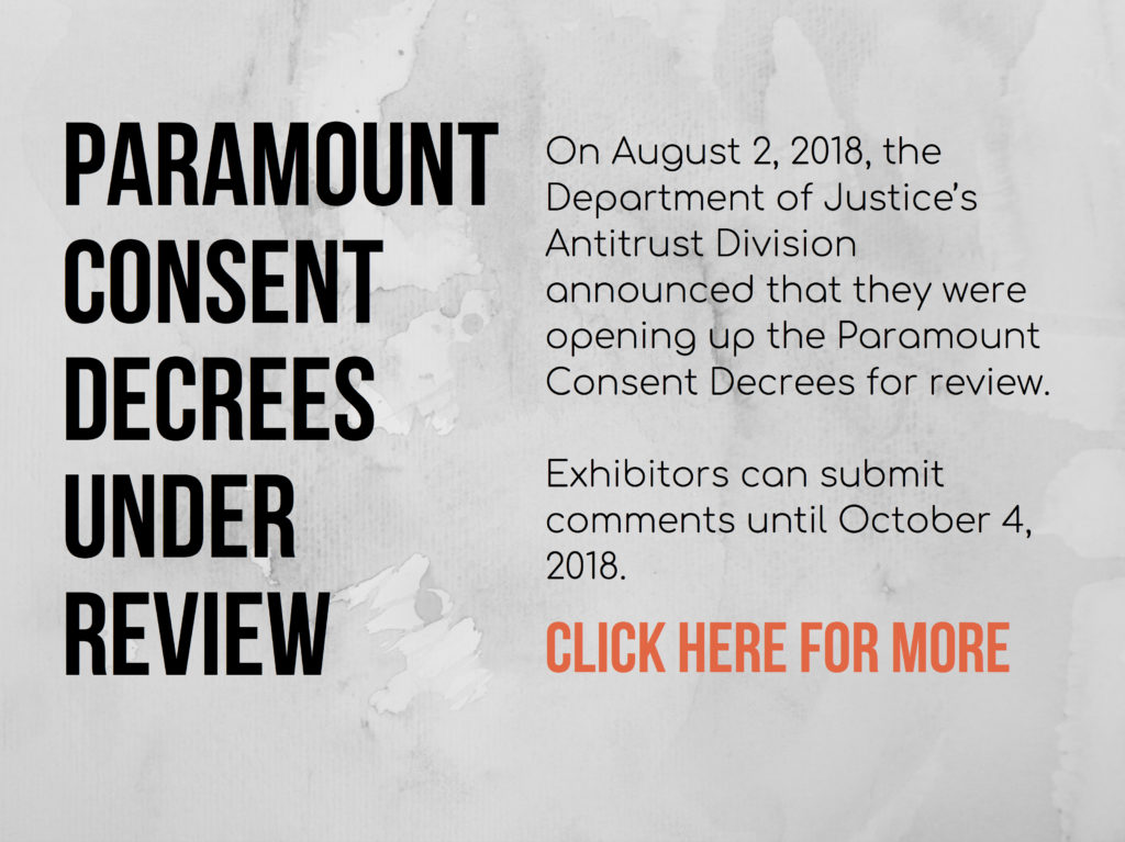 Paramount Consent Decrees Under Review
