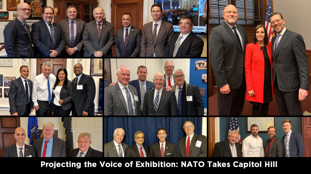 Projecting the Voice of Exhibition: NATO Takes Capitol Hill
